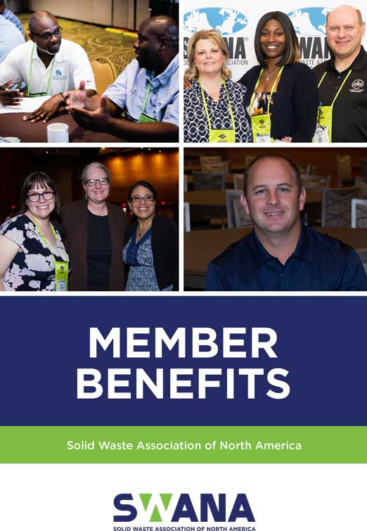 SWANA Member Benefits Guide front cover